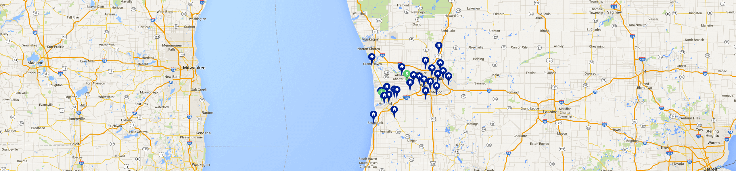Personal Home Macatawa Bank Headquartered In West Michigan - Map of all us bank locations