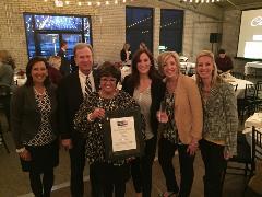 Macatawa Bank Team with United Way award