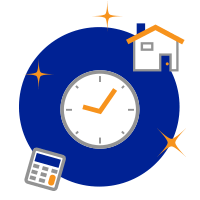 Early Mortgage Pay Off Calculator Icon